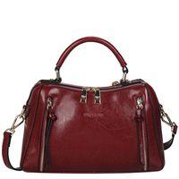 Wholesale Fancychic bags for women handbag autumn and winter handbags bags leather fashion Boston shoulder bags nice