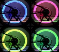 Wholesale Firefly Spoke LED Wheel Valve Stem Cap Tire Motion Neon Light Lamp For Bike Bicycle Car Motorcycle
