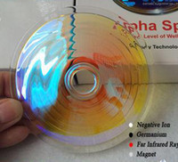 Wholesale AlphaSpin Bio Disc Newest Health Products Quantum Scalar Energy Alpha Spin Scalar Energy Balance Body