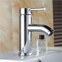 Wholesale Tap Bathroom Sink Faucet Simple modern Mixer tap washbasin Faucets Sanitary Ware Polished Deck Mounted Spout Quality