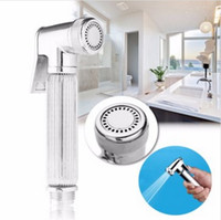 Wholesale G1 Chrome Multifunction Hand held Shower Head has great water pressure and it can save water and avoid wasting