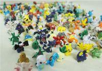 Wholesale Free DHL Style Poke go Figures Toys cm Multicolor Children cartoon Pikachu Charizard Eevee Bulbasaur Suicune PVC Mini Model Toy WJ02
