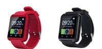 Wholesale Bluetooth Smartwatch U8 Smart Watch for iPhone S S S S Samsung S4 S5 Note Note3 HTC Android FreeDHL