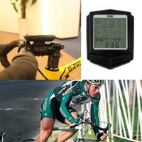 SD-573C Professional Wireless Velometer Bike Computer Écran de fréquence cardiaque étanche Cadence LCD Ordinateur de vélo Odomètre Compteur de vitesse