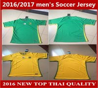 africa teams soccer jersey - new South African national team Football shirs season home away South Africa Soccer jerseys custom names and number