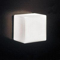 art brick - Indoor Wall Light LED Ice Wall Lamp Glass Wall Lamps White Ice Cube Background Light KTV Bar Room Asile Ice Brick Lamp
