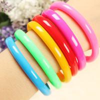 Wholesale Cute Colorful Bracelet Pen Hand Ring Wrist Length Pen Ballpoint School Supplies Gift