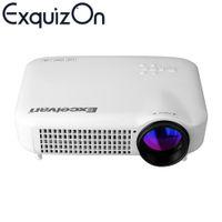 atv movies - Hot Excelvan LED5018 Lumens LED Projector Multi inputs AV VGA HDMI ATV USB P For Video Games TV Movies Proyector Beamer