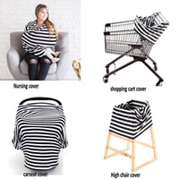 baby car seat canopy - Nursing Breastfeeding Cover Scarf Baby Car Seat Canopy Shopping Cart Stroller Car seat Cover for baby Multi Use Infinity Udder Cozy Shawl