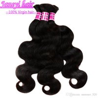 Wholesale 9A grade Mongolian Human Hair Dyeable Natural Color Hair Bulks Bulks Body Wave Unprocessed Hair Extensions Double Weave