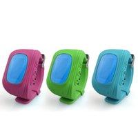 Smart Kid Safe GPS Watch Montres-bracelets SOS Call Localisation Finder Tracker de localisation pour enfant Enfant Anti Lost Monitor Baby Gift Q50