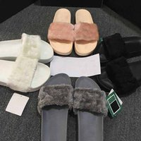 Wholesale Leadcat Fenty Rihanna Shoes Women Sandal Slippers Indoor Sandals Girls Fashion Scuffs Pink Black White Grey Fur Slides With Original Box