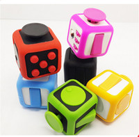 Big Kids big bumpers - 30pcs Fidg0et Cube Case Cover Magic Cube Protector Funny Environmentally ABS Fidget Cube Toy Protective Bumper VS black zipper case box
