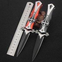 Browning alloy function - Survival knife Can fold Outdoor survival tool Multi function Cross Swiss Army knife