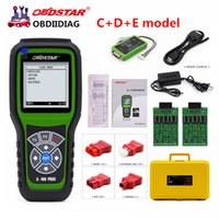 Wholesale 2017 Original OBDSTAR X100 PROS C D E model Key Programmer with EEPROM adapter IMMO Odometer OBD EEPROM