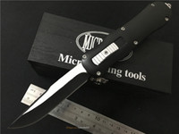al knife - Microtech Knife Blade Handle Zn Al alloy Outdoor Tactical knife Microtech survival knives