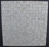 Wholesale Oyester White D Arch brick Weave Mother of Pearl Shell Mosaic Backsplash Wall Tiles