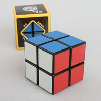 Wholesale High qulaity X2X2 Sengshou Magic ABS Ultra smooth Professional Speed Cube Puzzle Twist Smooth PVC Paster x5x5cm