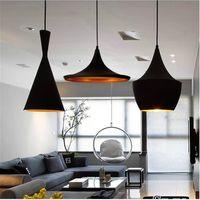 abc homes - Tom Dixon Pendant Lamps Beat For Home Living Room Dining Room Hotel Bar AC110 V Modern ABC Models Pendant Lights chandeliers LED Lighting