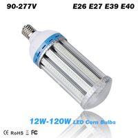 Wholesale 12W W LED corn bulbs E26 E27 E39 E40 lamp Base Garden Lights Warehouse parking lighting