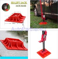 color base jack plate - RED Hi Lift Jack Base Plate for Mud and Sand Recovery High Farm Jack WD