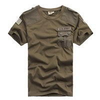 Wholesale Mens Gear T shirts Casual Confederate US Army st Airborne Division Cotton T Shirt Sport Tactical Comfort Male Tshirt man Tees