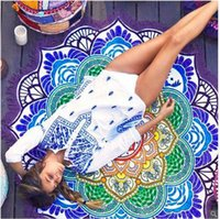 bath wrap pattern - 2017 New Beach Towels Tassel Bikini Cover Up Bohemian Geometric Pattern Summer Beach Swim Towel Shawl Wrap Yoga Mat