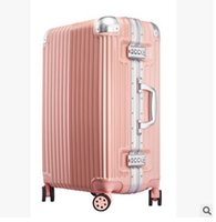 Wholesale Pull rod box female universal wheel child male check in luggage luggage password trunk inch tide