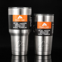 Wholesale 30oz oz OZARK TRAIL Rambler Tumbler Shatterproof Lid Cold Hot Cooler Cup Vacuum Insulated Powder Coated Vehicle Coffee Beer Mug Cups