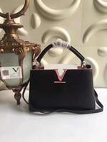 Wholesale Import Genuine Leather Handbags Brand Design Retro noble Women Handbag Messenger Bags Large capacity clamshell lady Shoulder Bag