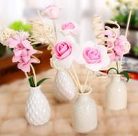 apple vanilla - apple strawberry lavender orange lemon sandalwood ocean vanilla aroma diffuser ceramic bottles