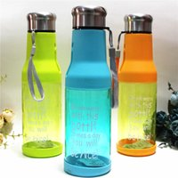 PC beer bottle tray - 5 yg Years The New Leakproof Mugs Food Grade Plastic Beer Bottle Cup High Temperature Resistant Space Tumblers Movement