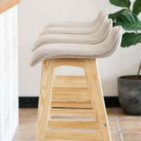 Wholesale Modern creative household high chair stool legs long legs chair wood desk bar bar chair