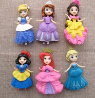 Wholesale 6pcs set princess doll furnishing articles clothes Can be Remove the cm doll toys