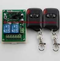 appliance garage - DC12V CH Wireless Remote Control Switch System teleswitch Receiver cat eye Transmitters for Appliances Gate Garage Door