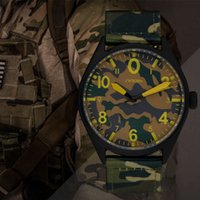 Men's air force belt buckles - SINOBI Men s Military Watches for Luxury Brand Camouflage Nylon Watchband Males Air Force Army Waterproof Quartz Clock Relogios