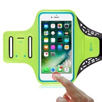 Wholesale Fingerprint unlock SPORTS Armband for IPhone Support FINGERPRINT UNLOCK Touchscreen Cash Card Pocket Key Holder