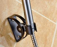 Metal Single Tier Aluminum A4 Bathroom Hardware Sprinkler seat suction type nozzle support free adjustable showerhead drilling bathroom shower hose fittings.