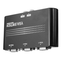 Wholesale 1 Monitor to PC PORT In Out VGA SVGA Monitor Sharing Switch Switcher Box