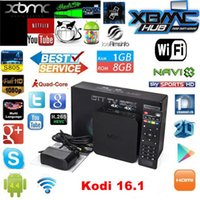 Wholesale MXQ MXG MXS TV BOX Amlogic S805 Quad Core Android Airplay TV Channels Programs Media Player KODI