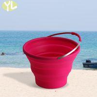 barrel water garden - new bucket non toxic eco friendly silica gel buckets food grade shatterproof water barrel for home garden or outdoor accessories