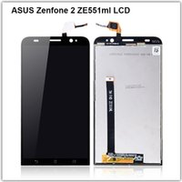 asus phones - High Quality Touch Screen LCD Display Digitizer Assembly For Asus Zenfone ZE551ML Inch Phone
