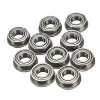 Wholesale 10pcs MF84ZZ LF840ZZ x8x3mm Flange Ball Bearings
