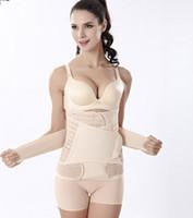 Nuevo Body Sculpting adelgazamiento después del parto postparto postparto de las mujeres vientre recuperación cinturón abdomen envolver corsé embarazo Faja Q0498