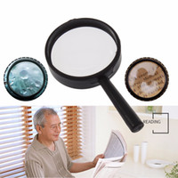 as pic acrylic magnifier - Top Handheld Reading X Magnifier Hand Held Magnifying acrylic mm Mini Pocket Magnifying Glass Lens Reading Microscope