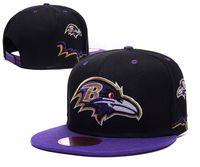 baseballs ravens - Hot Sale Cotton Men Baseball Cap Ravens Snap Back hat Outdoor Sports cap American Football Team Snapback Hat Summer Adjustable Hat Mix Order