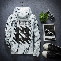 Wholesale off white jacket windbreaker streetwear hip hop softshell waterproof suprem wind breaker y college jaqueta masculina veste windbreakers