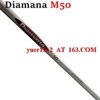 Wholesale TOP Diamana M50 men s Graphite Regular Flex or Stiff flex shaft Golf Clubs Diamana Shaft Inch
