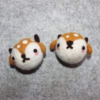 Wholesale New toy custom deer handmade DIY deer accessories Christmas deer