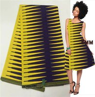 african cloth designs - fashion design real prints super java wax factory direct fabric african wax cloth in yellow purple yard LXJ